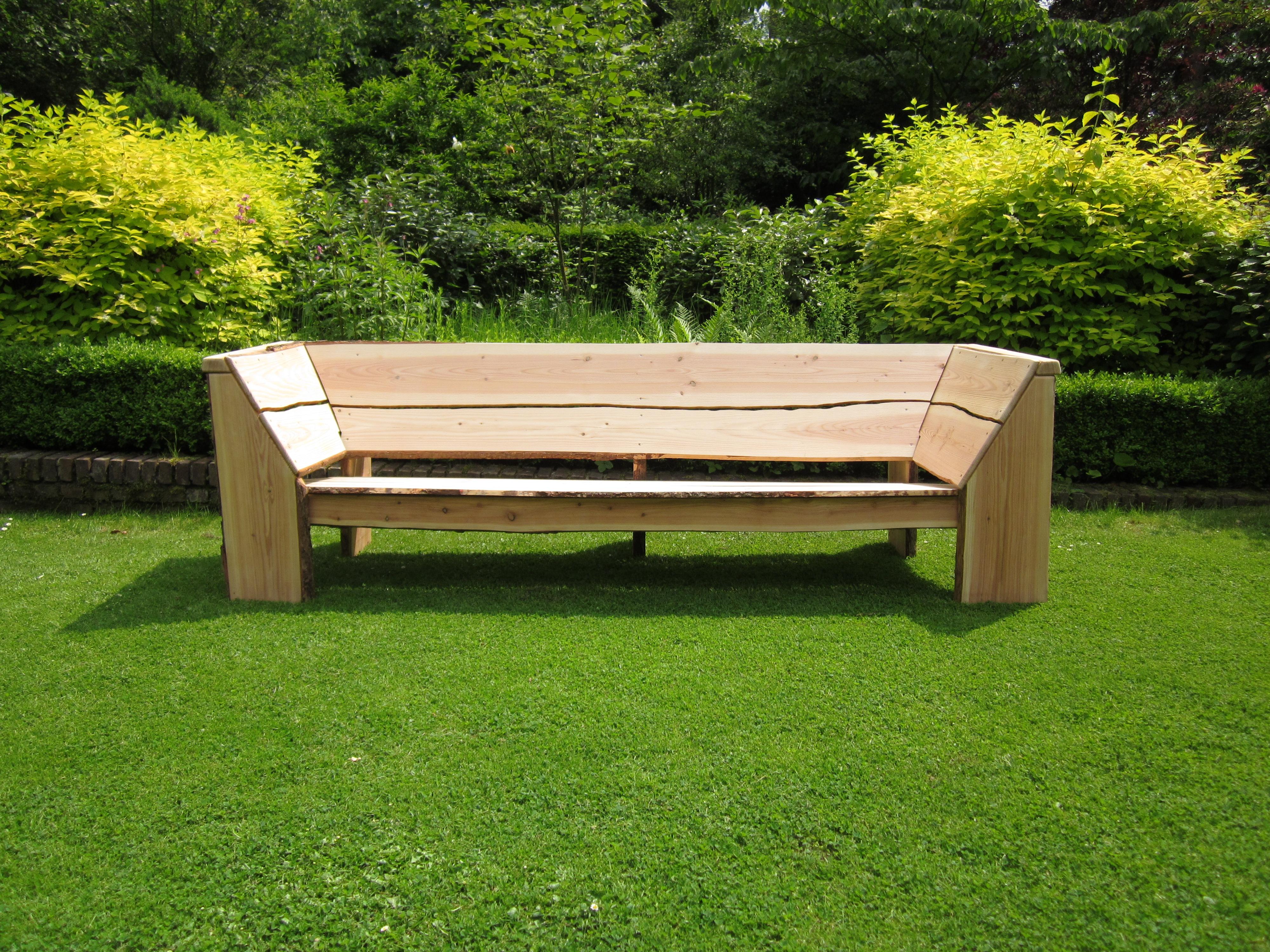 loungebank houten loungebank. Black Bedroom Furniture Sets. Home Design Ideas