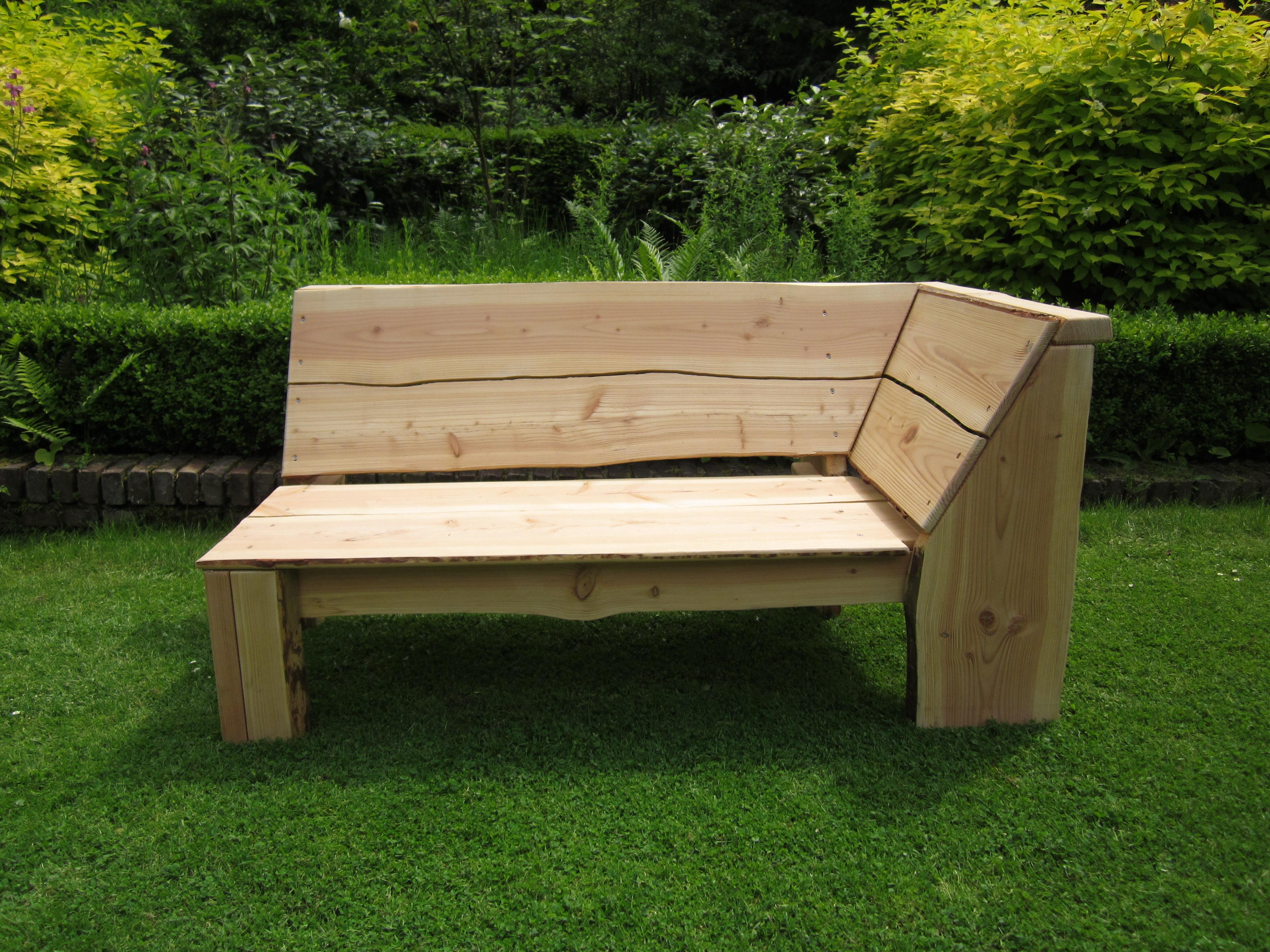 Loungebank houten loungebank - Buiten image outs ...